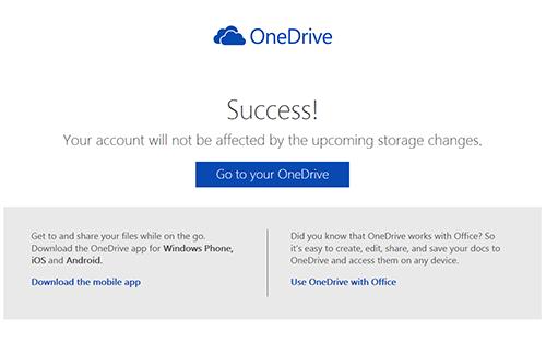 OneDrive容量ボーナス