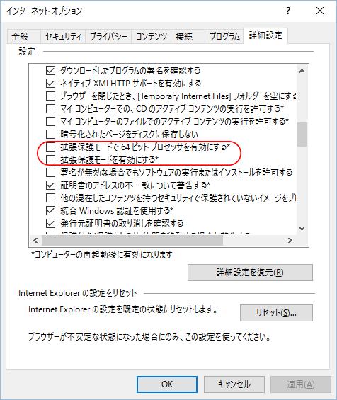 IE詳細設定2